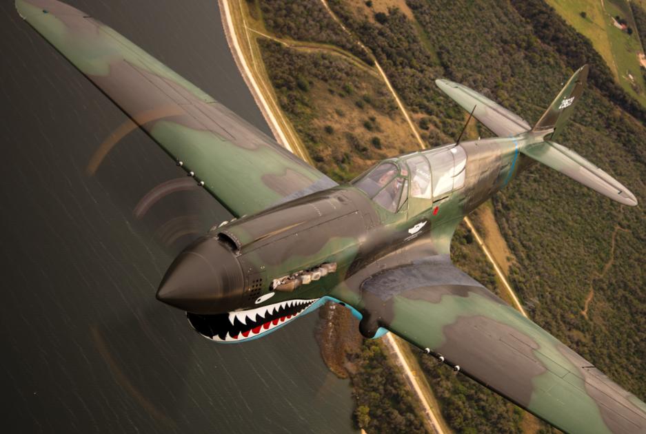 对于飞虎队战斗机上的鲨鱼图案,