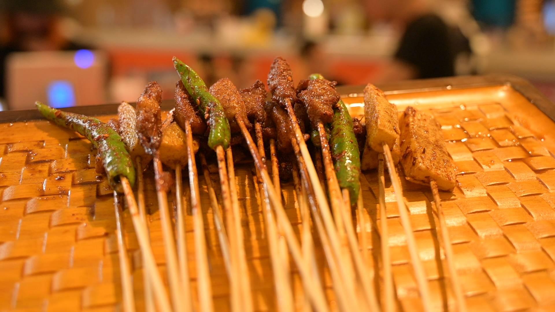 萨野炸串美食带来全新体验!