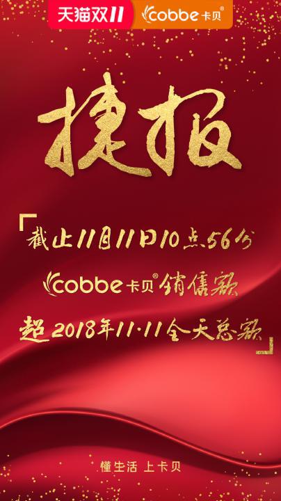 2019双十一 卡贝勇攀高峰