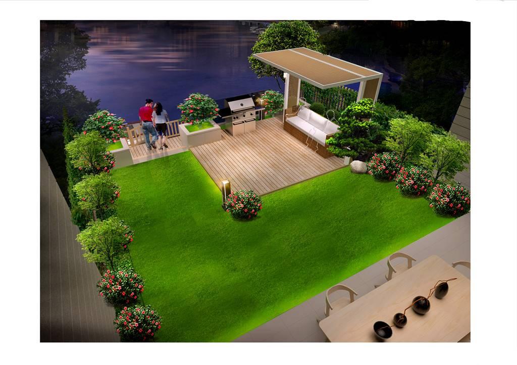 深圳私家庭院景观如何设计?-嘉禾田