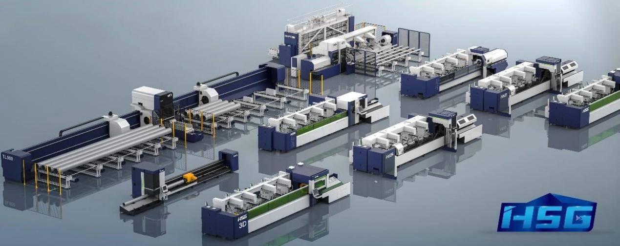 宏山激光管材切割机,不可或缺的工业制造好帮手