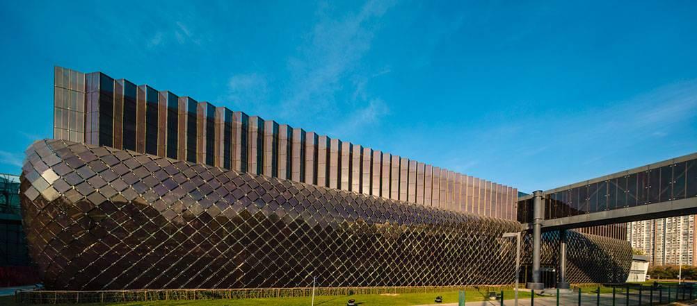 汉能薄膜建筑一体化 解决绿色建筑零能耗