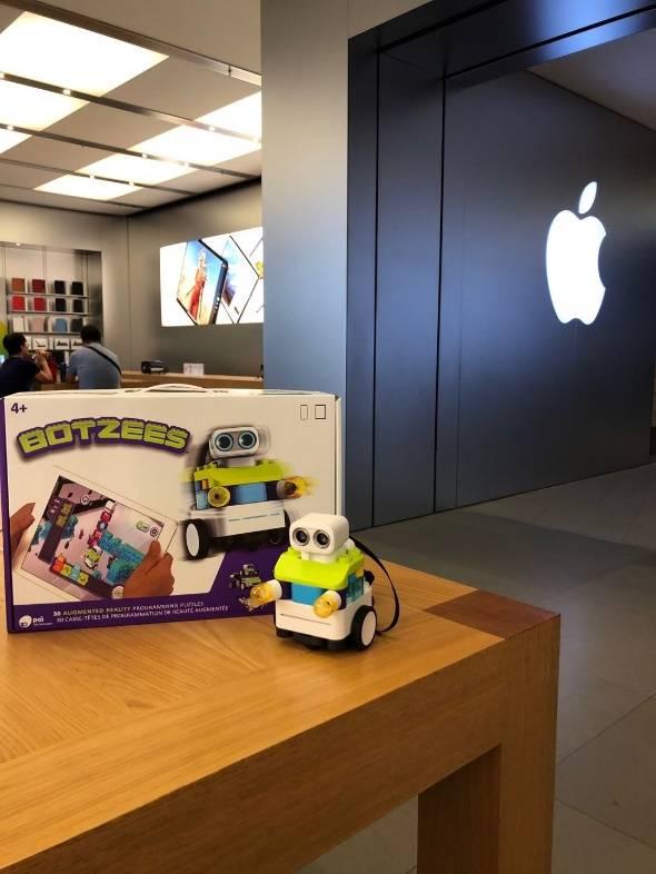 布魯可Botzees入駐全球蘋果店 為全球兒童提供優質積木產品
